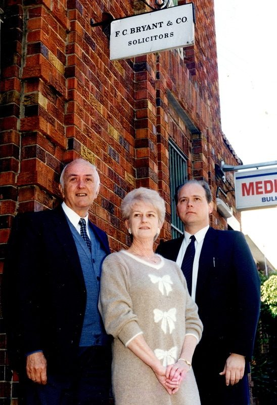 Gordon Bryant & Ken Thomas old at 42 Bay St address with former partner Pat Stemp